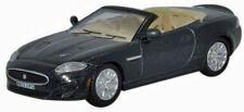 Oxford Jaguar XK Convertible Black Die-Cast Metal Car 1/76 OO Scale 76XK003