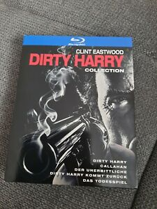 Dirty Harry Collection Blu-ray Box Teil 1+2+3+4+5   Clint Eastwood