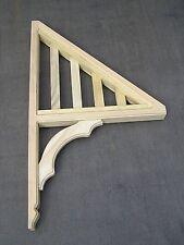 Wooden Verandah Bracket / Window Awning Bracket/Canopy - 1000mmH x 580mmW x 66mm
