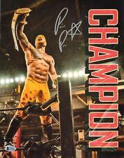 Prince Puma Signed 11x14 Photo BAS COA Lucha Underground Belt Ricochet Wrestling