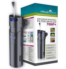Aquarium Fish Tank Internal Filter - 9w UV Steriliser - 700IF+ All in One <150L