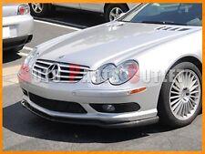 Carbon Fiber CS Style Front Bumper Lip For 2003-2009 Mercedes-Benz R230 SL55 AMG