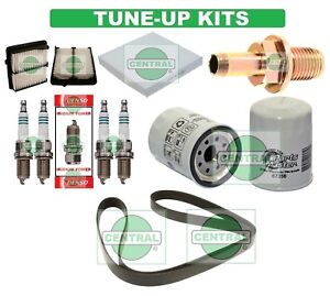 TUNE UP KITS 09-13 HONDA FIT: BELT SPARK PLUG; PCV VAL. AIR, CABIN & OIL FILTERS