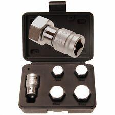 Innensechskant-Bit-Set f. Motorrad, 1/2 Adapter, Bit-Größen 17, 19, 22 und 24mm
