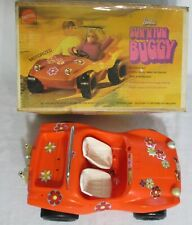 Vintage 1970 Mattel Orange SUN N FUN Barbie Doll DUNE Beach Buggy CAR Vintage