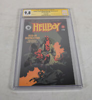 Hellboy Seed Of Destruction 1 CGC SS 9.8 Signed David Harbour