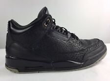 2012 NIKE AIR JORDAN RETRO III 3 BLACK FLIP - SZ 11.5 100% AUTHENTIC