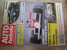$$t Revue Auto Hebdo N°691 GP Belgique Senna  Mitsubishi  JaguarSport XJR-S