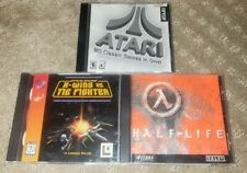 HALF-LIFE Star Wars X-Wing vs. The Fighter ATARI 80 Classic Games One PC CD-ROM