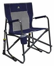 GCI Outdoor Freestyle Rocker Portable Folding Rocking Chair - Indigo Blue