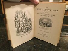 The Rose And The Ring By Mr. M A Titmarsh (Hardcover, 1930)