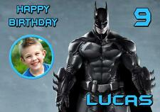 PERSONALISED BATMAN PHOTO BIRTHDAY ALL OCCASIONS CARD