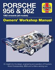 Haynes Porsche 956 and 962 Owners Workshop Manual H5796
