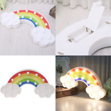 3D Rainbow modelling LED Night Light Decorative Bedroom Lamp Battery Operated