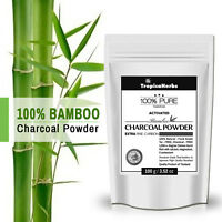 Highly Ultra Fine Activated Bamboo Charcoal Powder 100% PURE NATURAL FOOD GRADE