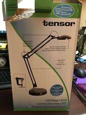 LED Architect Desk Lamp with Clamp,Black Tensor 10C-005