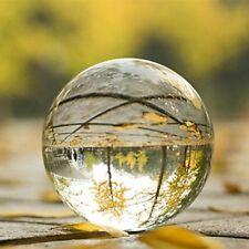 50mm Crystal Ball Clear Glass Sphere Magic Healing Crystals Decor Photography