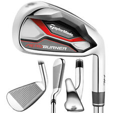 TaylorMade Womens AeroBurner HL Iron Set RH 5-PW, AW, SW Graph Lady NEW