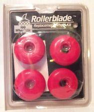Rollerblade Replacement Wheel Kit (new) NOS Roller Skates Skating