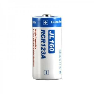 NEW JETBeam RCR123A Rechargeable Battery Spare JL160 High Capacity Li-ion
