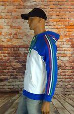 Men's Adidas Italy Essentials Firebird Track Retro Vespa Jacket Blue Size M