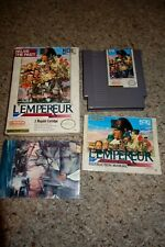 L'Empereur (Nintendo Entertainment System NES) Complete in Box GOOD W/ Poster