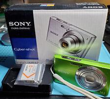 Sony Cyber-shot DSC-W610 14.1MP Digital Camera - Green
