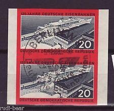 DDR Nr.   805 B gest.   Deutsche Eisenbahn Paar    -11