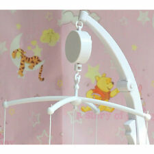 Lovely Baby Mobile Crib Bed Bell Toy Music Box Wind-Up Movement CA