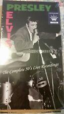 Elvis Complete 50's Live Recordings 4-cd Ltd. no. 175/400 RRM-42 Brand New(2015)