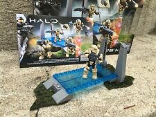 Halo Mega Bloks Set #CNK25 UNSC Fireteam Rhino Figure Lot 170 With Background!!
