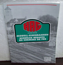 Hag 1992 Catalog Swiss Made Ho