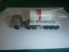 HO Tracker Trailer with Water Tower, made in Germany by Wiking