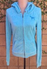 Victoria's Secret PINK Limited Edition Bling Terry Zip Hoodie Size Medium
