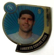 Pin Spilla Calcio Napoli 2006/2007 - Roberto Carlos Sosa