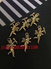 PJ341 12pc Tibetan Gold(The angel)Bead Charms Accessories wholesale