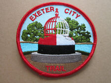 Exeter City Trail Walking Hiking Cloth Patch Badge (L3K)