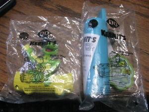 2 - 2002 DQ Dairy Queen Kids Toys Kermit's Swamp Years    Lot# T