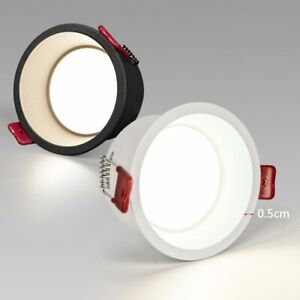 Deep anti-glare LED Downlight 5W 9W 12W 15W 20W Recessed dimmable Round LED