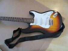 Gebraucht E-Gitarre (Strat kopie) sunburst ,mit tasche und gurt #4#