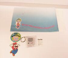 1992 Kellogg's Nintendo Game Boy Mail Away Clock Cereal Premium Super Mario Bros