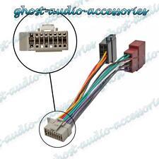 ISO Wiring Adaptor Harness Stereo Radio Connector Cable Loom Panasonic 16 Pin
