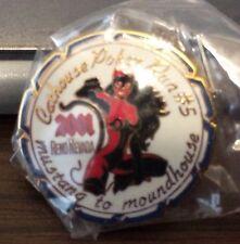 Hells Angels 81 Supporter Pin Nevada cat House poker Run 2001