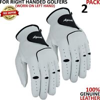APICAL All-Cabretta Leather of 2 Pack Golf Glove Men's All Sizes