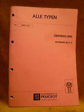 Peugeot Werkstatthandbuch Raparaturanleitung Überholung  Getriebe MG 5 T MG5T
