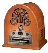 New Crosley CR32CD Cathedral Retro Vintage Table Top Radio w/CD Player