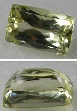 7.40ct Afghanistan 100% Natural Yellow Kunzite Spodumene Rectangle Cut Gemstone
