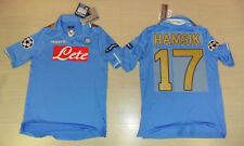 FOOTBALL NAPOLI 2012 TRICOT HAUT HAMSIK TAILLE M UEFA LIGUE DES CHAMPIONS COUPE