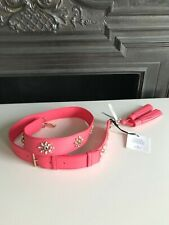 Kate Spade handbag strap with tassels pink leather new with tags