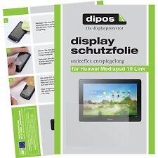 1x Huawei Mediapad 10 Link Schutzfolie matt Displayschutzfolie Folie dipos